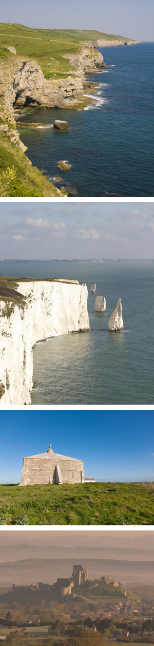 The Jurassic Coast and Old Harry Rocks